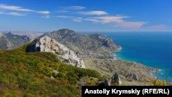 Гори в Криму