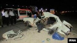 İranda yol qəzası, arxiv fotosu