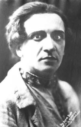 Уладзімір Крыловіч у ролі Кастуся Каліноўскага з аднайменнага спэктаклю Я. Міровіча, 1923 г.