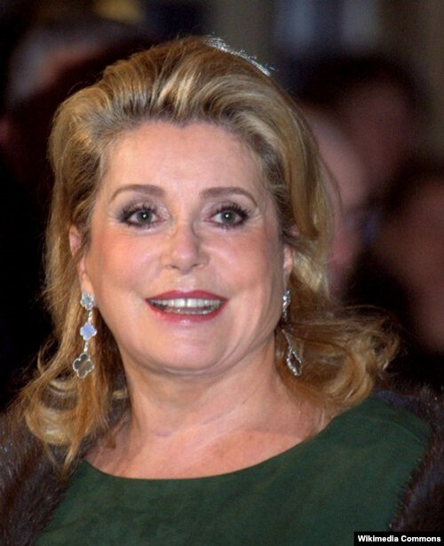 Catherine Deneuve - French actress
