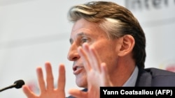 IAAF President Sebastian Coe (file photo)