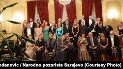 Učesnici koncerta povodom 70. jubileja Opere Narodnog pozorišta Sarajevo