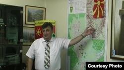 Милосим Војнески, градоначалник на Македонски Брод.