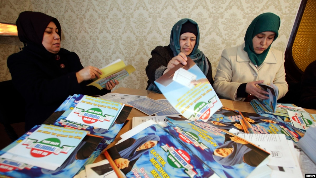 Islamic Party Leaders Unfairly Imprisoned In Tajikistan, UN Group Says
