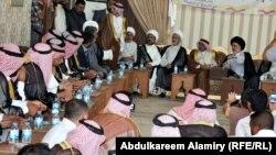زيارة وفد التيار الصدري لـعشيرة السعدون في البصرة