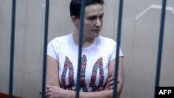 Депутат Верховної Ради Надія Савченко за ґратами в Москві