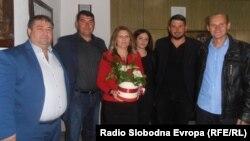 Жаклина Јовановска, градоначалничка на Општина Старо Нагоричане.