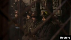 Донецькі шахтарі, архівне фото