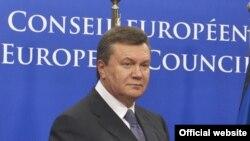 Виктор Янукович в Брюсселе