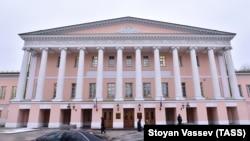 Здание Мосгордумы