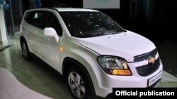 Chevrolet Orlando ավտոմեքենա, արխիվ