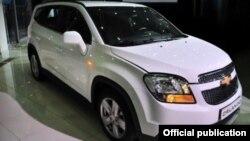 Chevrolet Orlando 10 март куни Тошкентда жамоатчиликка тақдим қилинган эди.