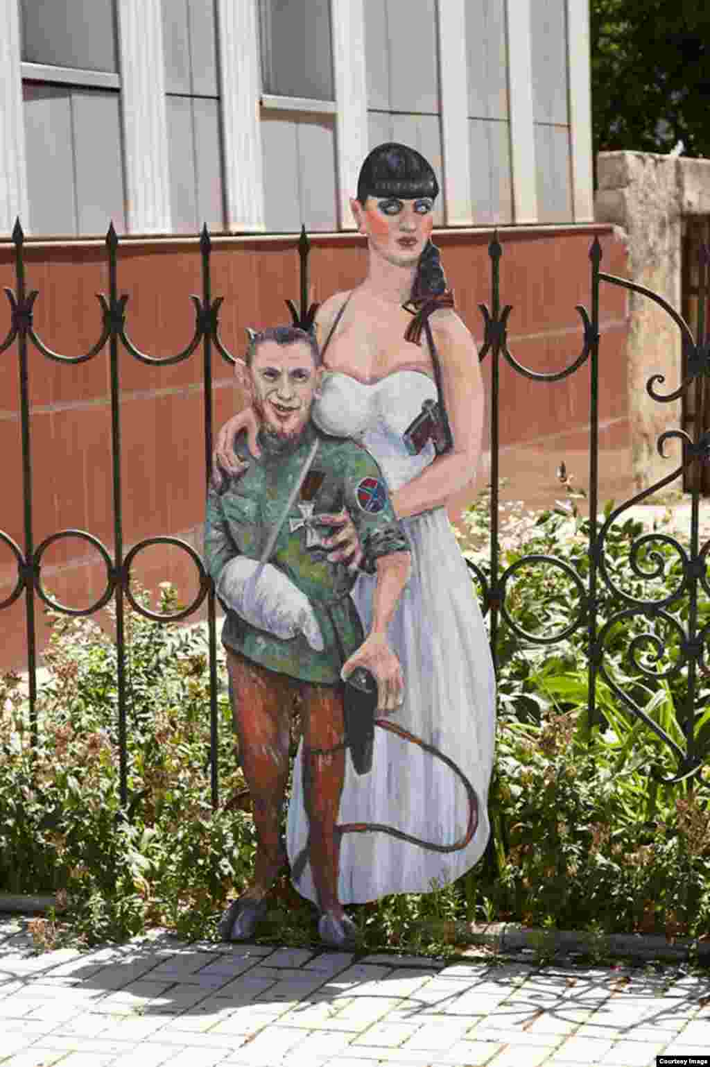 "Separatist commader ""Motorola"" and his zombie bride"