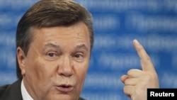 Украина президенті Виктор Янукович. Киев, 8 шілде 2011 жыл.