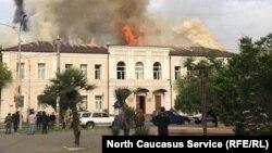 Пожар в школе №2, 2 мая 2019 г.