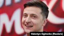 Кандидат на посаду президента України Володимир Зеленський. Київ, 22 лютого 2019 року