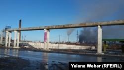 Промышленные выбросы в Темиртау. Иллюстративное фото.