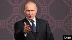ولادیمیر پوتین، رئیس جمهوری روسیه.