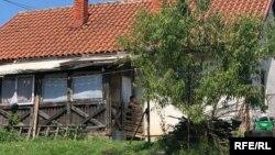 Jedna od kuća u izbjegličkom centru