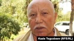 Полковник в отставке Менмуханбет Шушбаев. Алматы, 29 июля 2014 года.