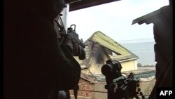 Бійці російського антитерористичного спецзагону під час однієї з операцій, архівне фото