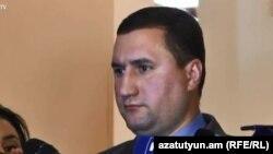 И. о. заместителя министра обороны Армении Габриэл Балаян, Ереван, 8 ноября 2018 г.