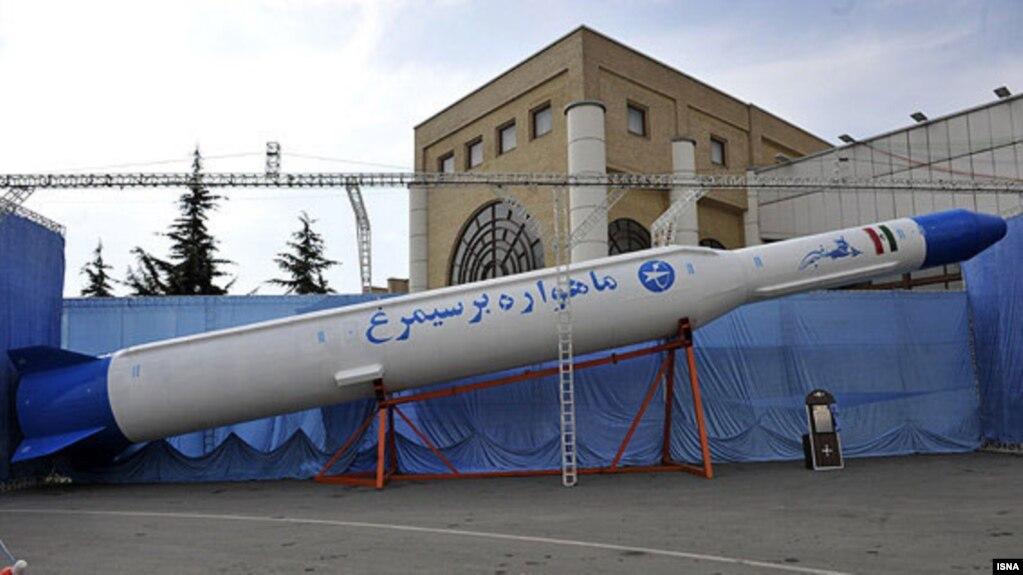 ایران از پرتاب موشک ماهوارهبر «سیمرغ» به فضا خبر داد