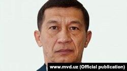 Бывший министр МВД Узбекистана Адхам Ахмадбаев.