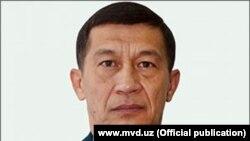 Адхам Ахмедбаев, Өзбекстанның бұрынғы ішкі істер министрі.