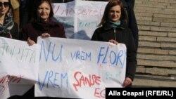 Chișinău, 8 martie 2020, marșul solidarității pentru drepturile femeilor.