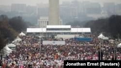 Женская манифестация в Вашингтоне, 21 января 2017