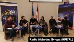 Promotori stripa, Beograd