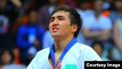 Казахстанский дзюдоист Елдос Сметов.