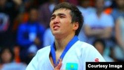 Дзюдодан Азия чемпионы Елдос Сметов.