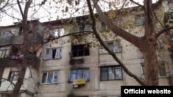 Пожар в общежитии на ул. Чехова в Севастополе