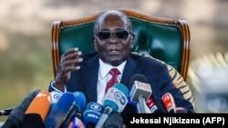 Зимбабвенің бұрынғы президенті Роберт Мугабе.