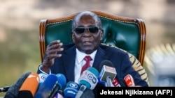 Бывший президент Зимбабве Роберт Мугабе.