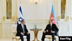 Биньямина Нетаньяху и Ильхам Алиев