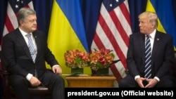 Поставки зброї Україні лідери обох країн обговорювали під час останньої зустрічі у вересні 2017 року у США
