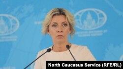 Официальный представитель МИД РФ Мария Захарова, город Пятигорск, 22 августа 2019 года