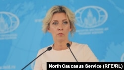 Juru bicara Kementerian Luar Negeri Rusia Maria Zakharova (file foto)