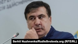 Михаил Саакашвили в Киеве. 11 ноября 2016 года.