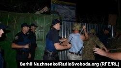 Конфлікт між забудовниками та мешканцями Святошинського району, 6 вересня 2016 року