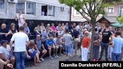 Protest građana Bihaća
