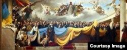 Картина «Державотворення». Автор – Олексій Кулаков