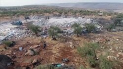 Video Shows Destroyed Compound, Said To Be Home Of Extremist Leader Baghdadi