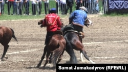 Турнир по кок-бору в Кыргызстане. Иллюстративное фото.