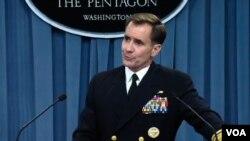 Zëdhënësi i Pentagonit, admirali John Kirby.