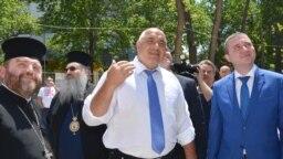 Премиерът Бойко Борисов и финансовият министър Владислав Горанов посетиха Варна