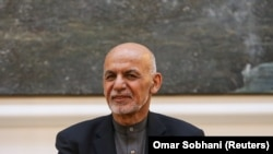 Președintele afgan Ashraf Ghani, decembrie 2019.